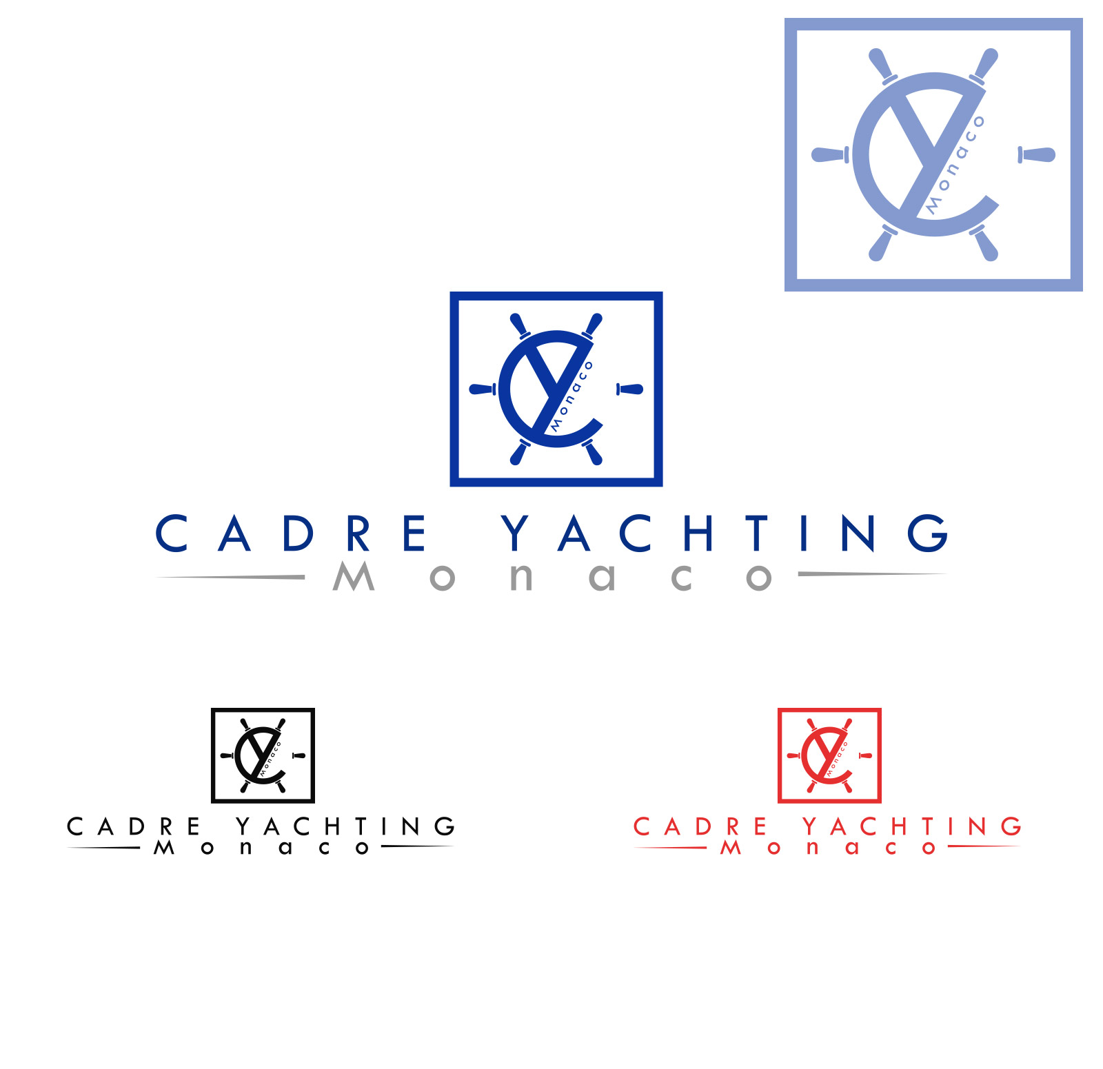 Logo Design by olii - Entry No. 369 in the Logo Design Contest New Logo Design for Cadre Yachting Monaco.