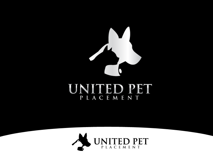 Logo Design by Jan Chua - Entry No. 12 in the Logo Design Contest Artistic Logo Design for united pet placement.
