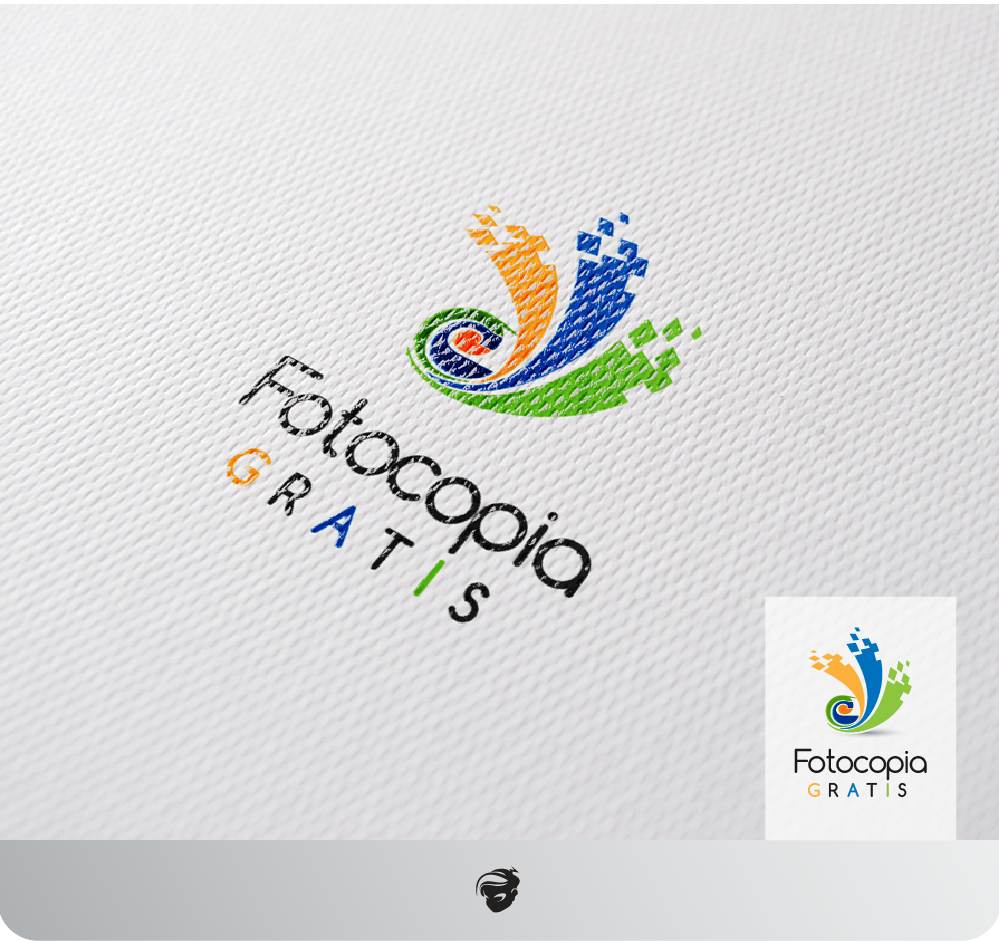 Logo Design by zesthar - Entry No. 221 in the Logo Design Contest Inspiring Logo Design for Fotocopiagratis.