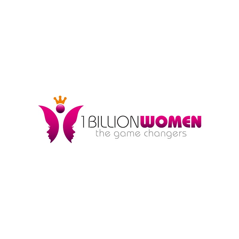Logo Design by Private User - Entry No. 67 in the Logo Design Contest Fun Logo Design for 1BillionWomen.