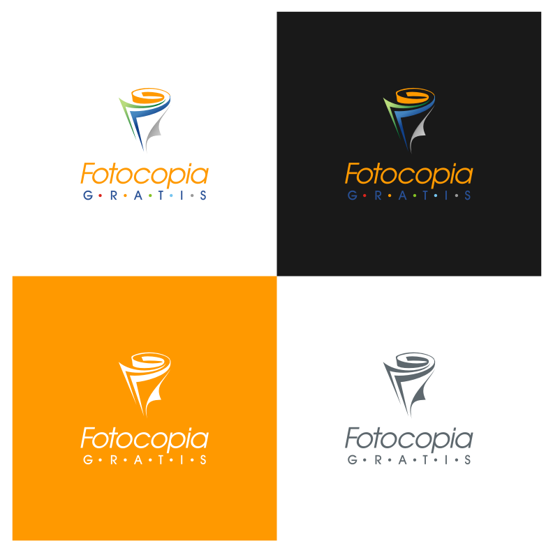 Logo Design by graphicleaf - Entry No. 224 in the Logo Design Contest Inspiring Logo Design for Fotocopiagratis.