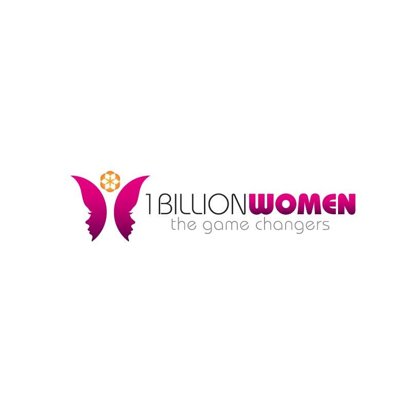 Logo Design by Private User - Entry No. 70 in the Logo Design Contest Fun Logo Design for 1BillionWomen.