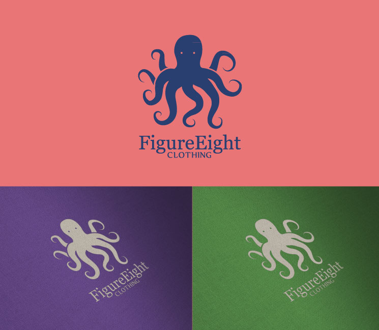 Logo Design by SERO - Entry No. 79 in the Logo Design Contest Artistic Logo Design for Figure Eight Clothing.