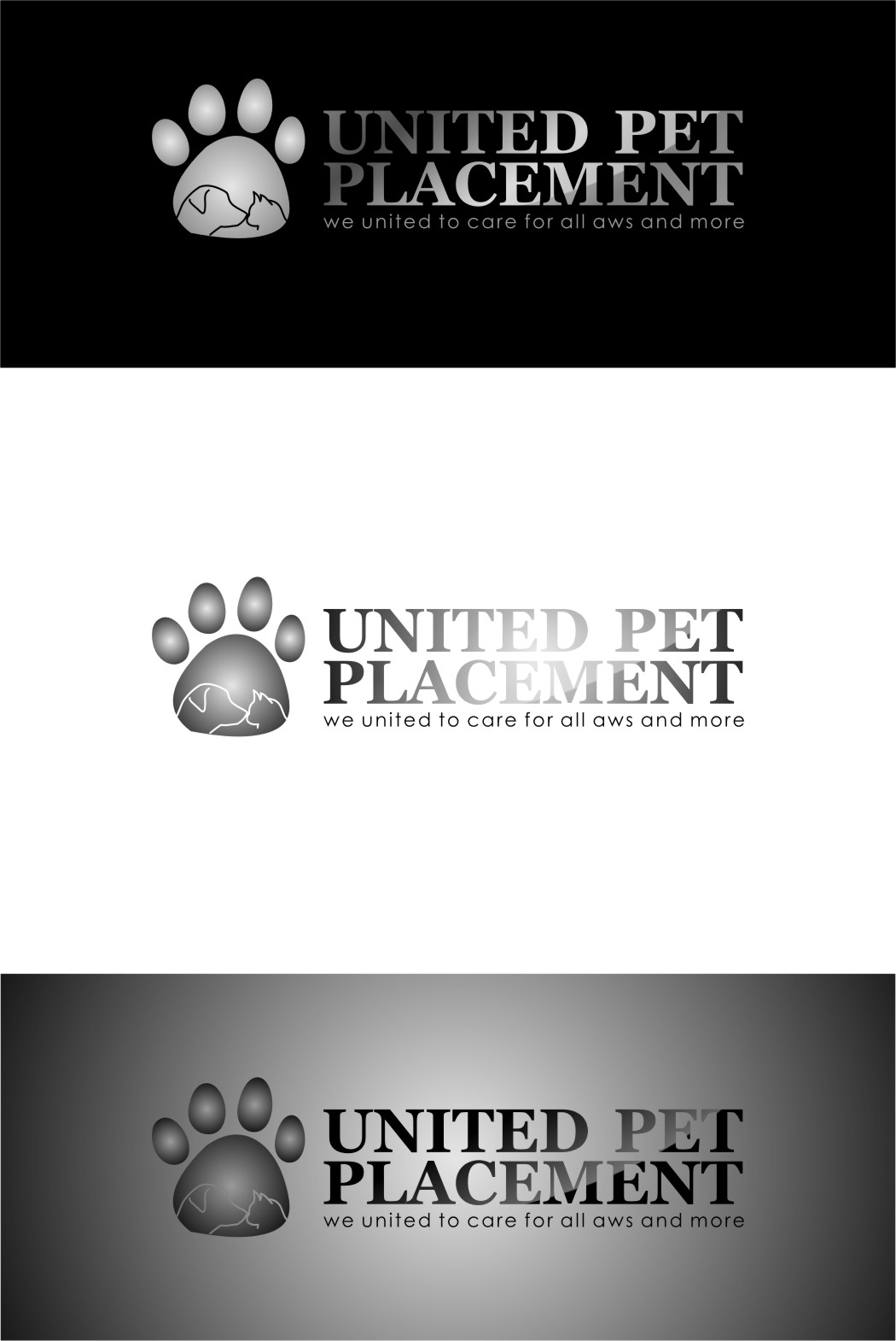 Logo Design by Ngepet_art - Entry No. 16 in the Logo Design Contest Artistic Logo Design for united pet placement.