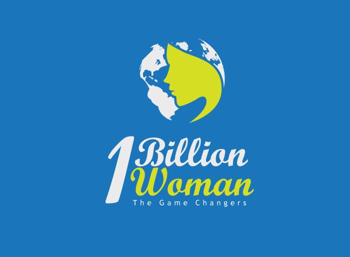 Logo Design by Jan Chua - Entry No. 71 in the Logo Design Contest Fun Logo Design for 1BillionWomen.