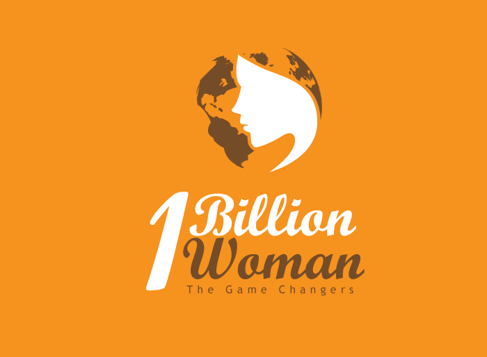 Logo Design by Jan Chua - Entry No. 72 in the Logo Design Contest Fun Logo Design for 1BillionWomen.