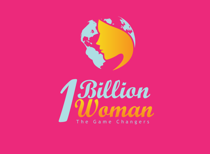 Logo Design by Jan Chua - Entry No. 73 in the Logo Design Contest Fun Logo Design for 1BillionWomen.