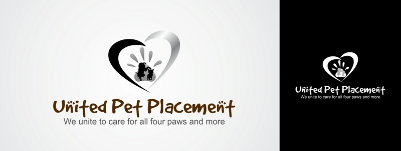 Logo Design by Crispin Jr Vasquez - Entry No. 17 in the Logo Design Contest Artistic Logo Design for united pet placement.