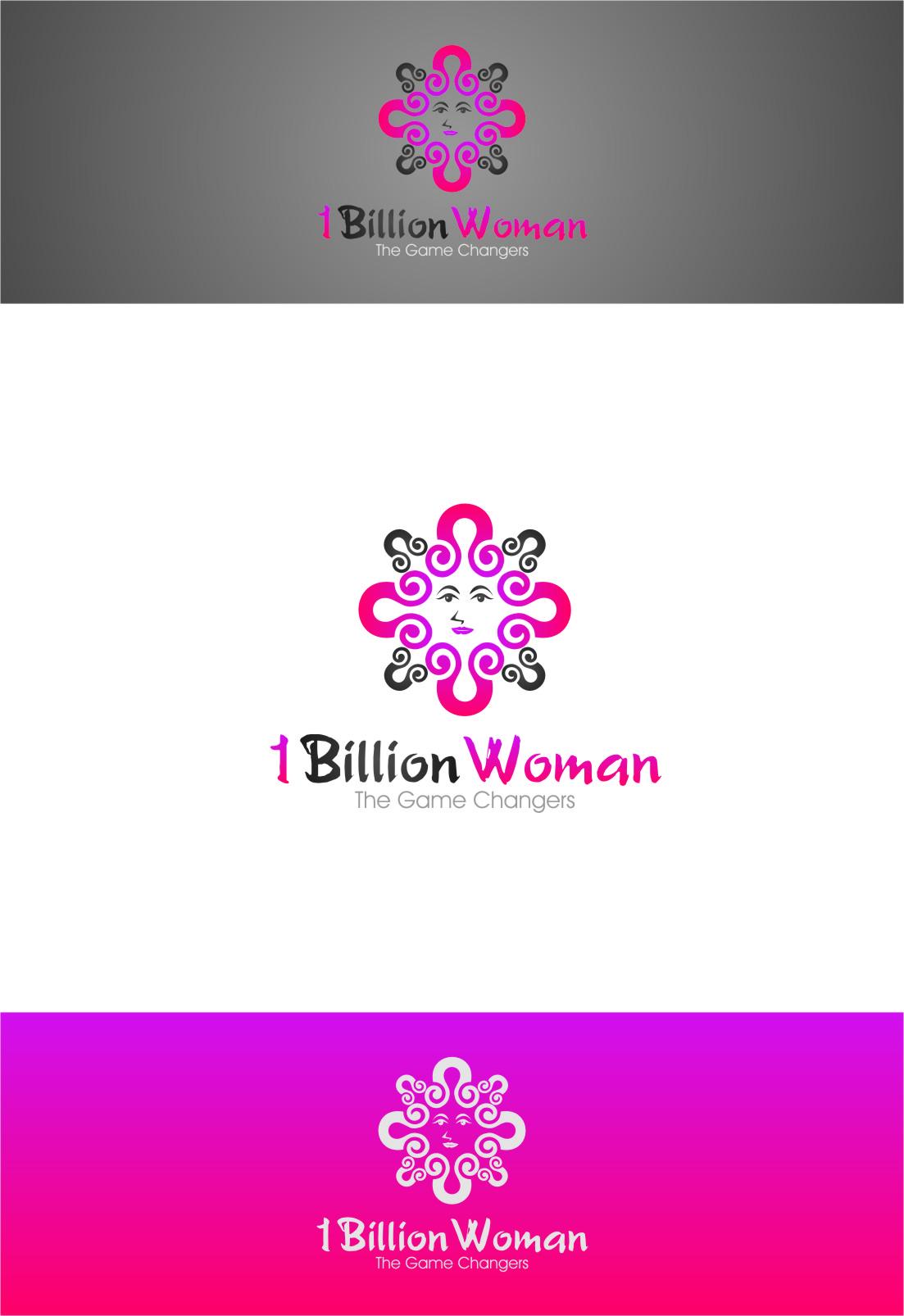 Logo Design by RasYa Muhammad Athaya - Entry No. 76 in the Logo Design Contest Fun Logo Design for 1BillionWomen.