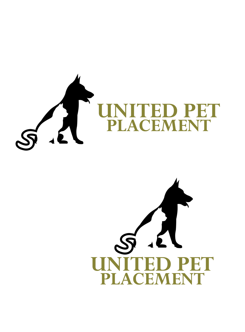 Logo Design by Private User - Entry No. 19 in the Logo Design Contest Artistic Logo Design for united pet placement.