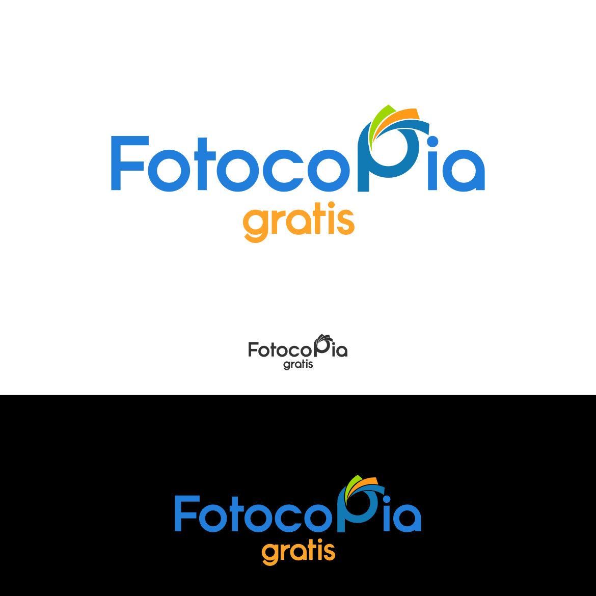 Logo Design by rifatz - Entry No. 226 in the Logo Design Contest Inspiring Logo Design for Fotocopiagratis.