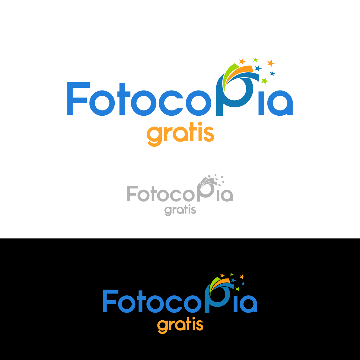 Logo Design by rifatz - Entry No. 227 in the Logo Design Contest Inspiring Logo Design for Fotocopiagratis.