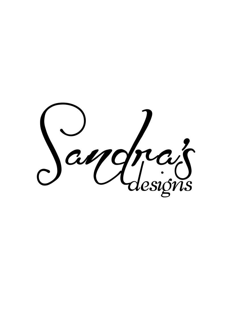 Logo Design by Private User - Entry No. 9 in the Logo Design Contest Imaginative Logo Design for Sandra's.
