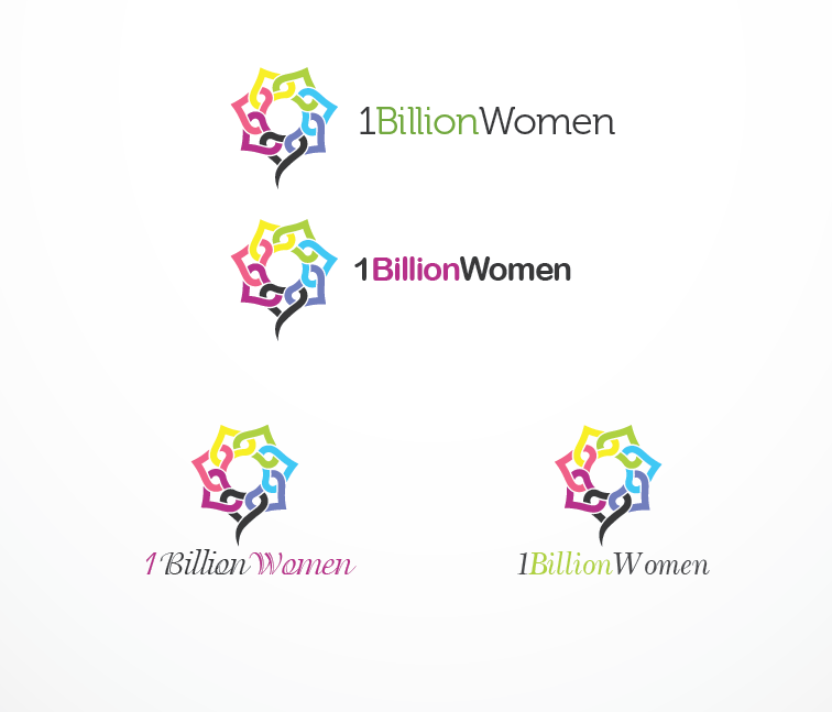 Logo Design by Private User - Entry No. 79 in the Logo Design Contest Fun Logo Design for 1BillionWomen.