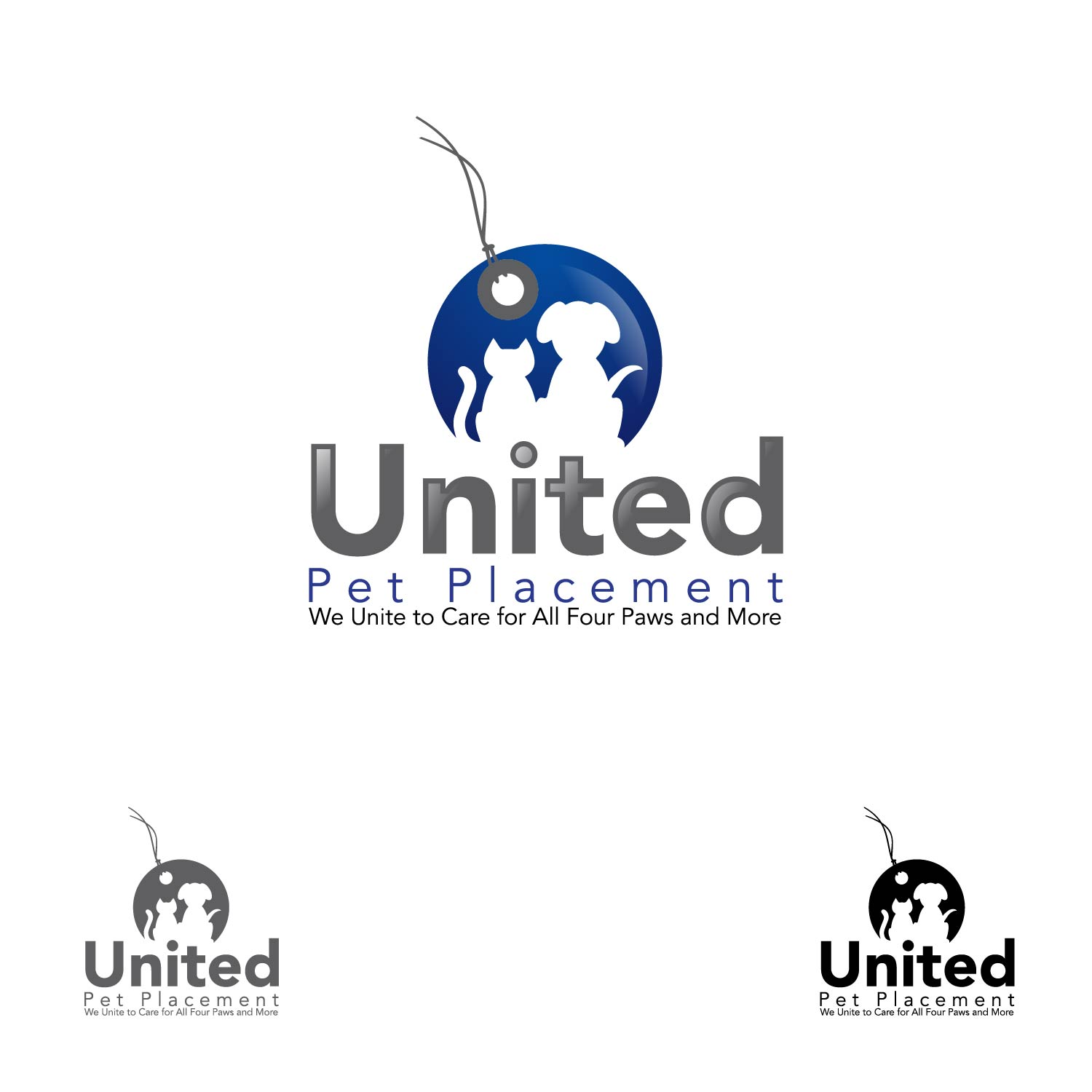 Logo Design by lagalag - Entry No. 20 in the Logo Design Contest Artistic Logo Design for united pet placement.