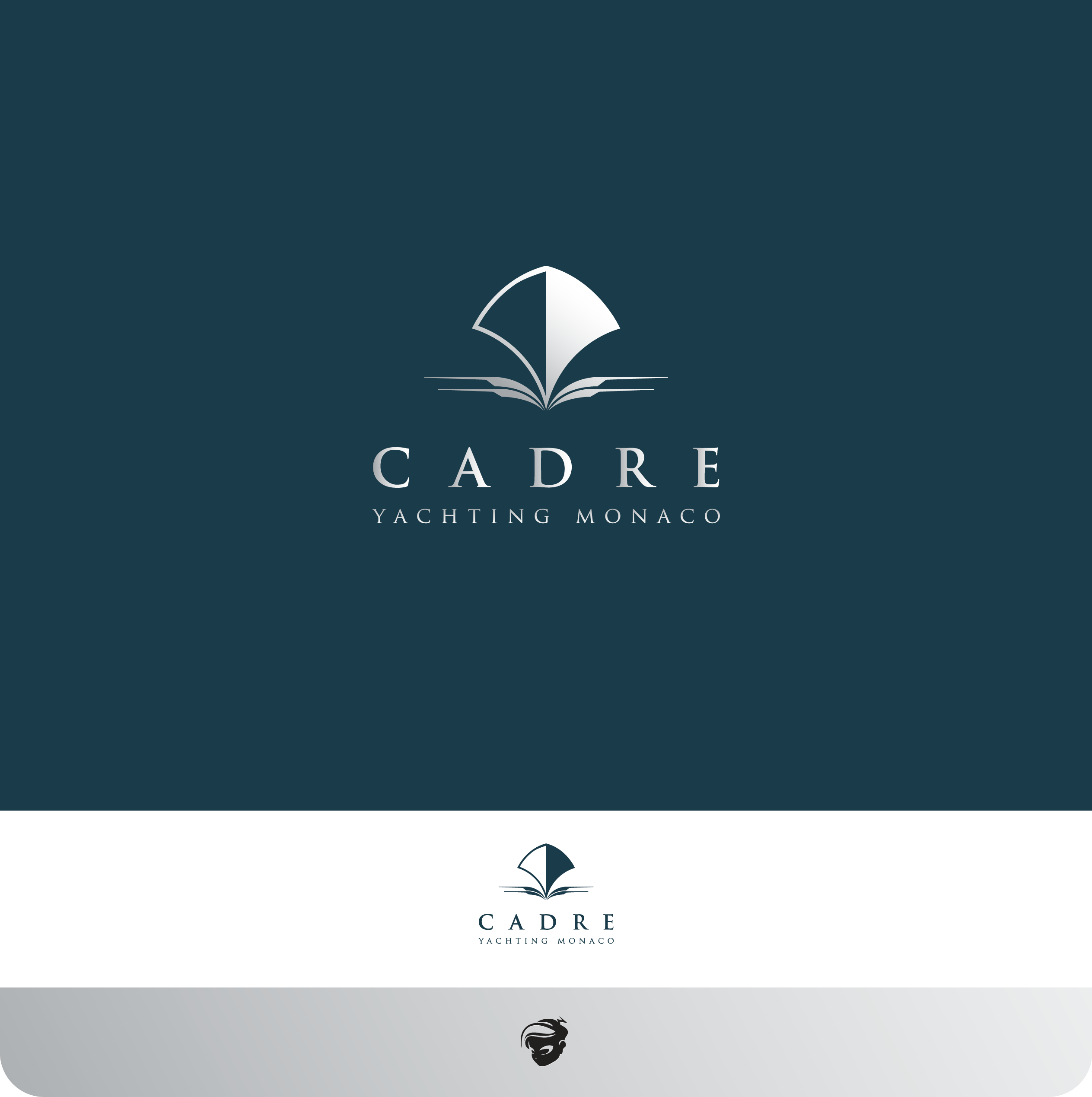 Logo Design by zesthar - Entry No. 406 in the Logo Design Contest New Logo Design for Cadre Yachting Monaco.