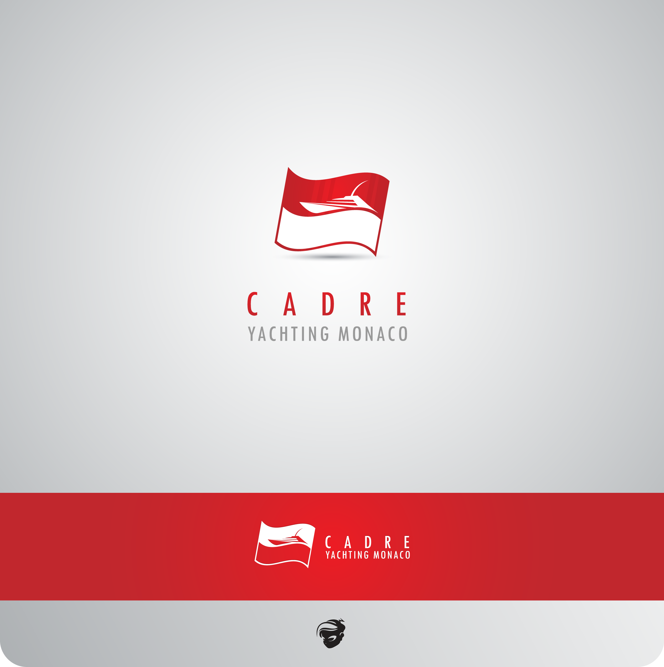 Logo Design by zesthar - Entry No. 407 in the Logo Design Contest New Logo Design for Cadre Yachting Monaco.