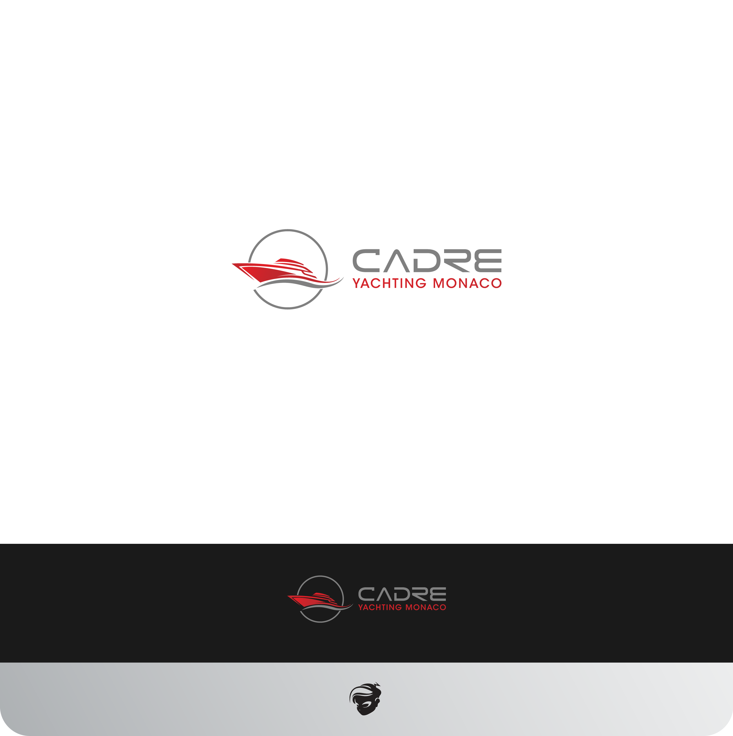 Logo Design by zesthar - Entry No. 408 in the Logo Design Contest New Logo Design for Cadre Yachting Monaco.