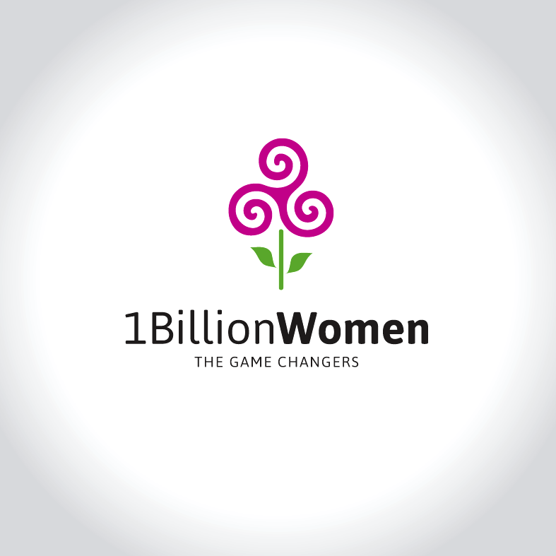 Logo Design by luna - Entry No. 80 in the Logo Design Contest Fun Logo Design for 1BillionWomen.