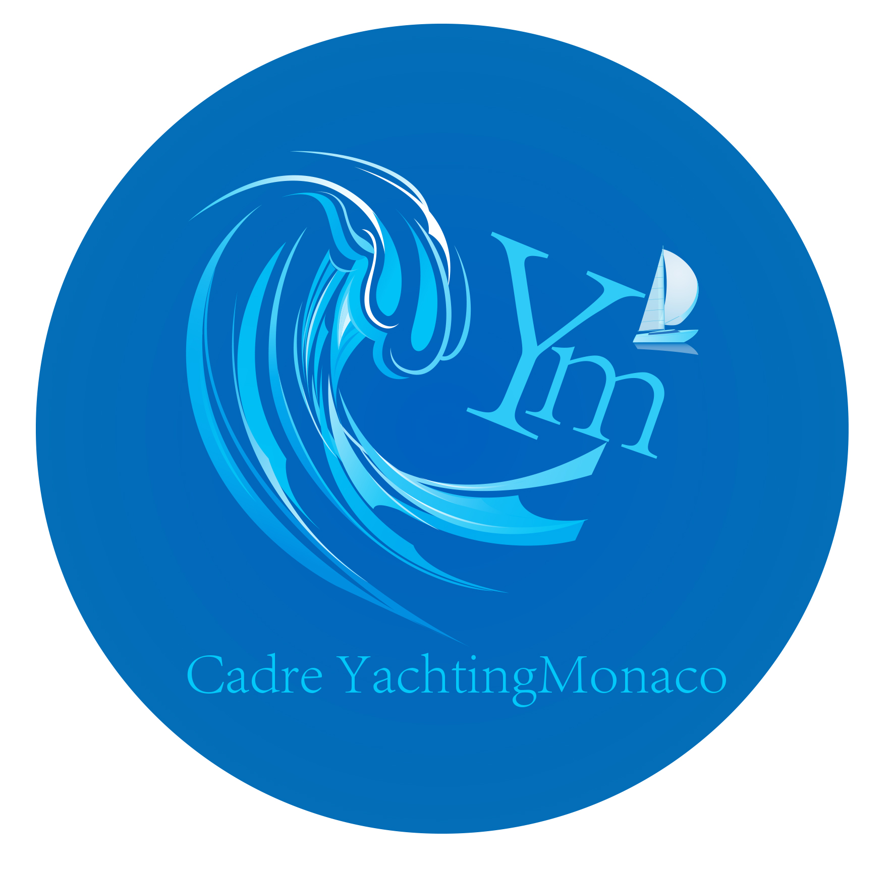 Logo Design by Leonard Anthony Alloso - Entry No. 410 in the Logo Design Contest New Logo Design for Cadre Yachting Monaco.