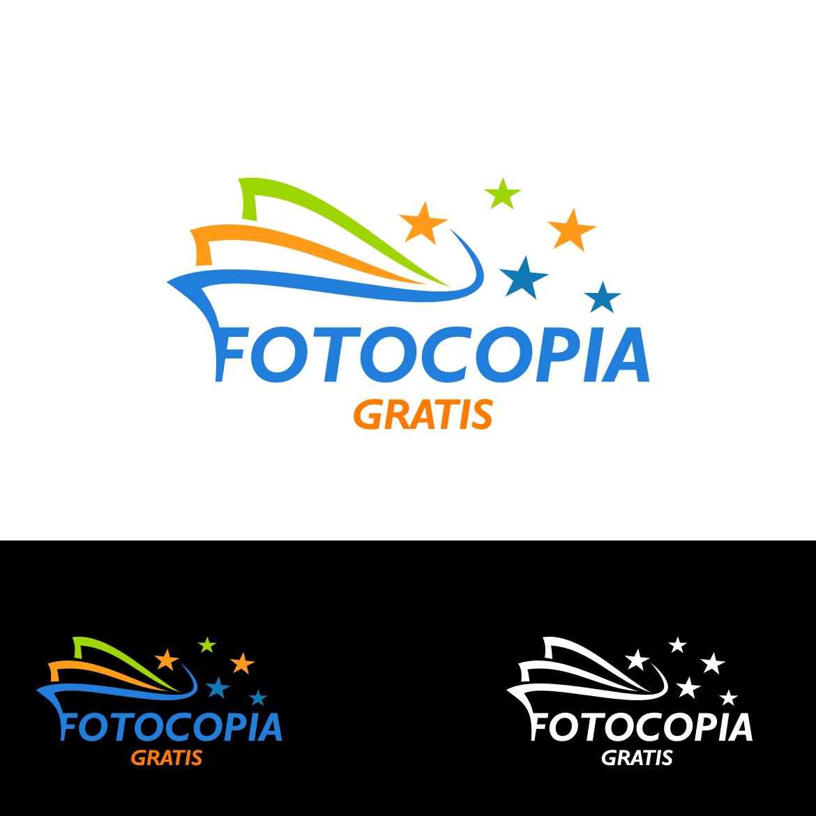Logo Design by rifatz - Entry No. 229 in the Logo Design Contest Inspiring Logo Design for Fotocopiagratis.