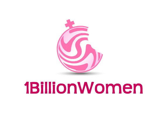 Logo Design by Ismail Adhi Wibowo - Entry No. 82 in the Logo Design Contest Fun Logo Design for 1BillionWomen.