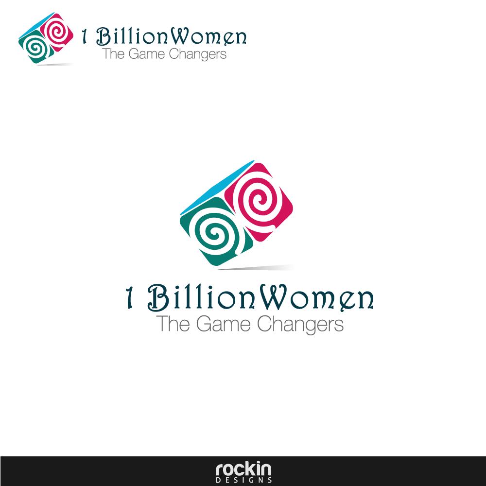 Logo Design by rockin - Entry No. 83 in the Logo Design Contest Fun Logo Design for 1BillionWomen.