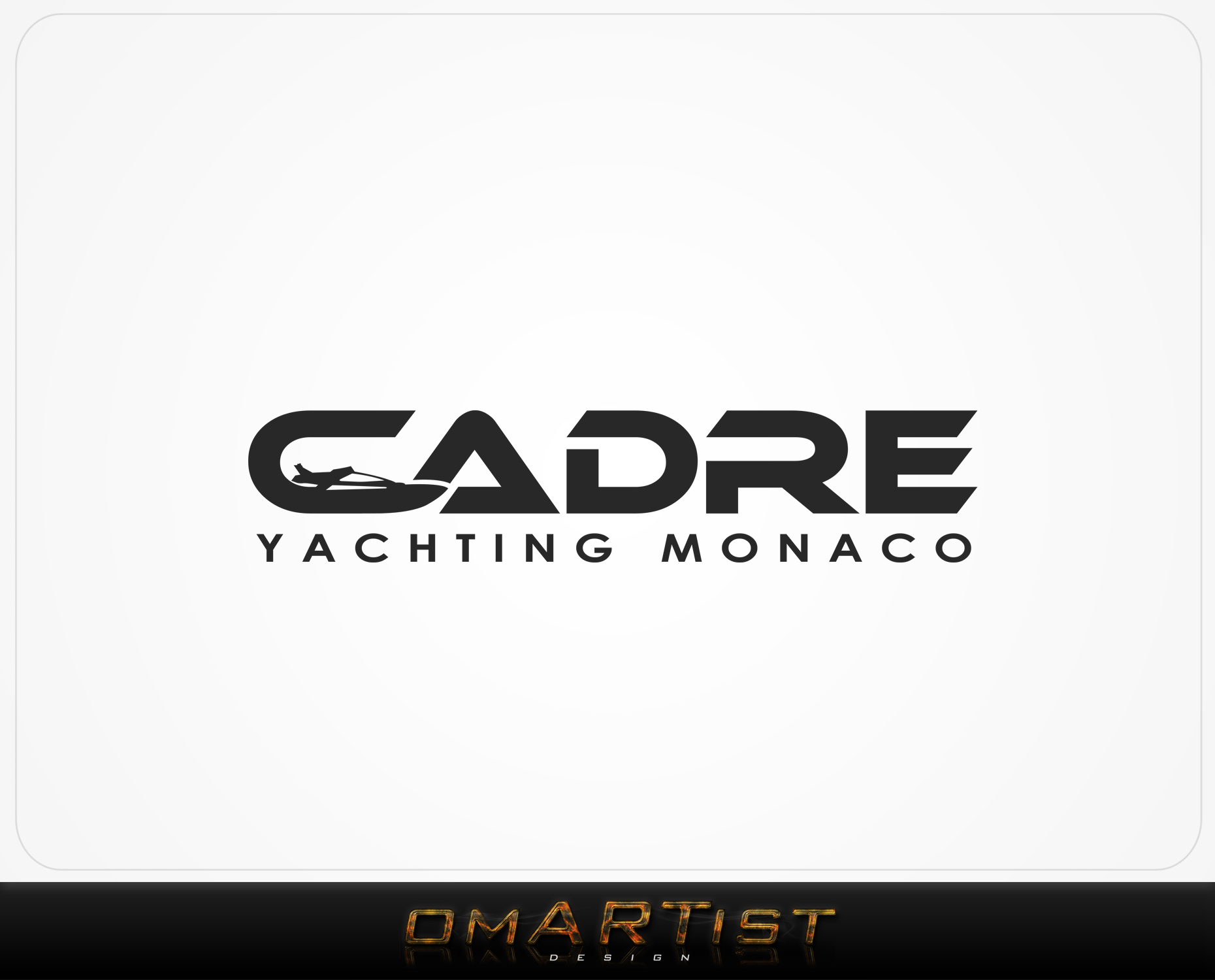Logo Design by omARTist - Entry No. 415 in the Logo Design Contest New Logo Design for Cadre Yachting Monaco.