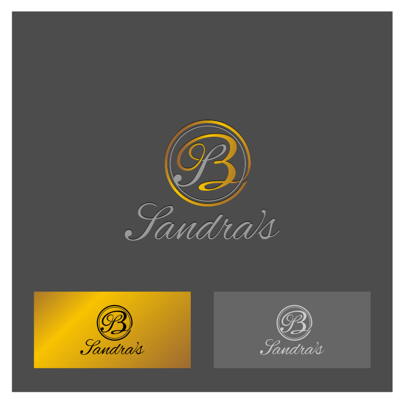 Logo Design by Muhammad Nasrul chasib - Entry No. 20 in the Logo Design Contest Imaginative Logo Design for Sandra's.