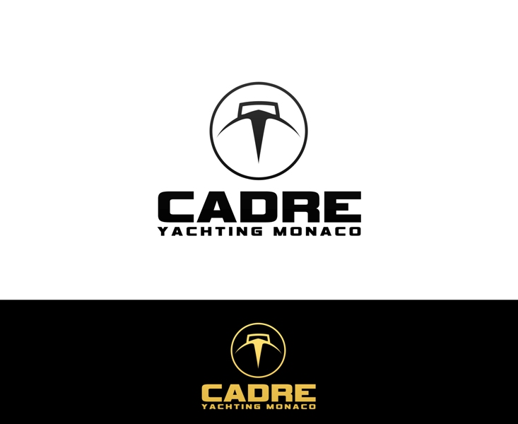 Logo Design by Juan_Kata - Entry No. 419 in the Logo Design Contest New Logo Design for Cadre Yachting Monaco.