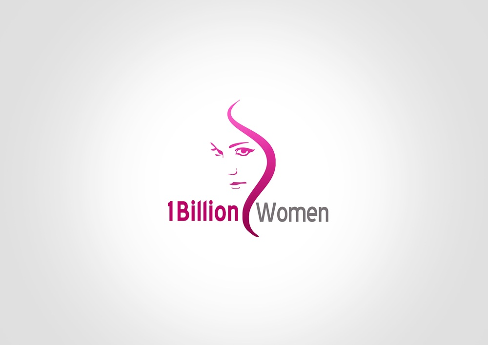 Logo Design by Respati Himawan - Entry No. 84 in the Logo Design Contest Fun Logo Design for 1BillionWomen.
