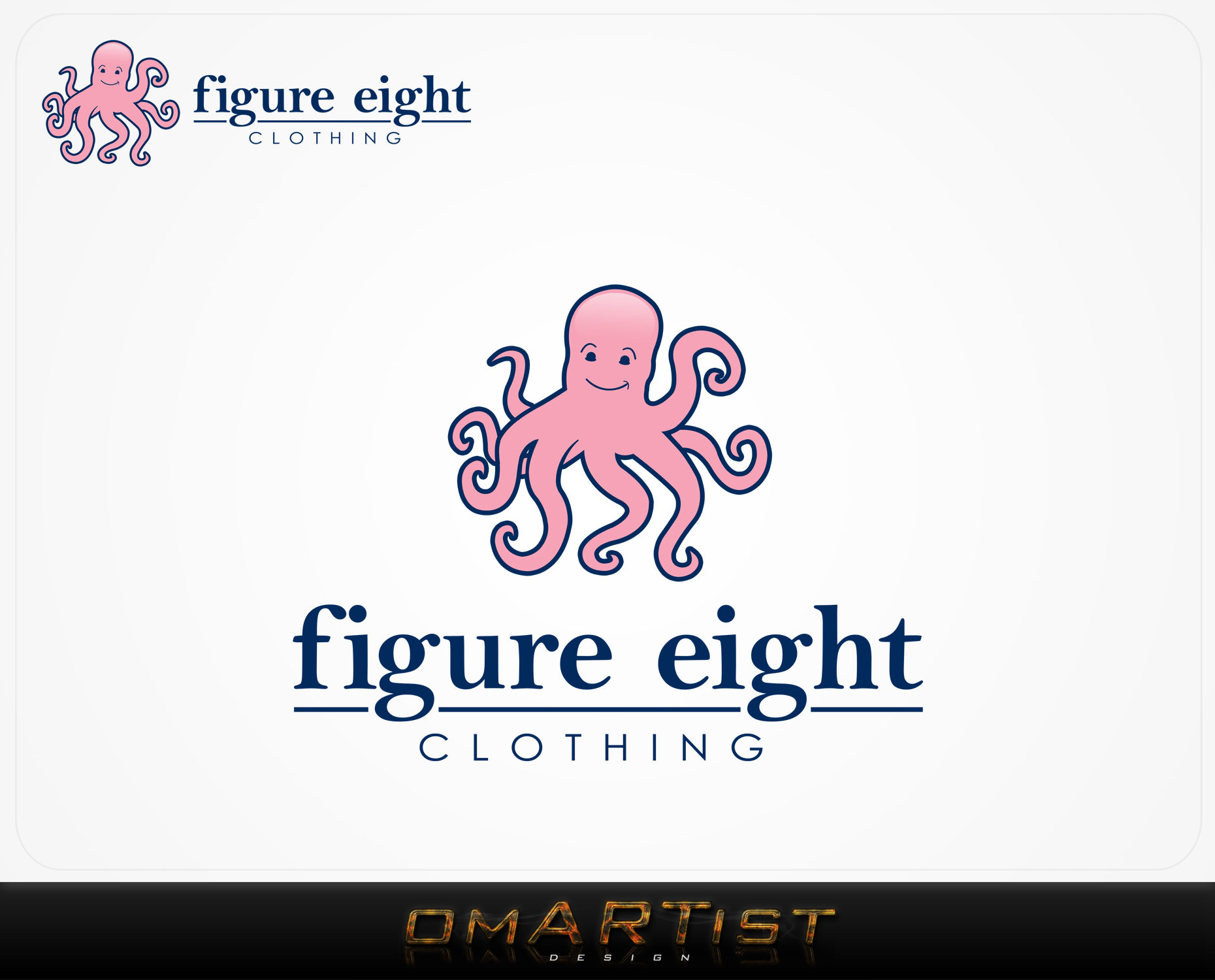 Logo Design by omARTist - Entry No. 83 in the Logo Design Contest Artistic Logo Design for Figure Eight Clothing.