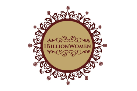 Logo Design by Crystal Desizns - Entry No. 85 in the Logo Design Contest Fun Logo Design for 1BillionWomen.