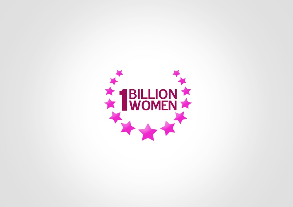 Logo Design by Respati Himawan - Entry No. 87 in the Logo Design Contest Fun Logo Design for 1BillionWomen.