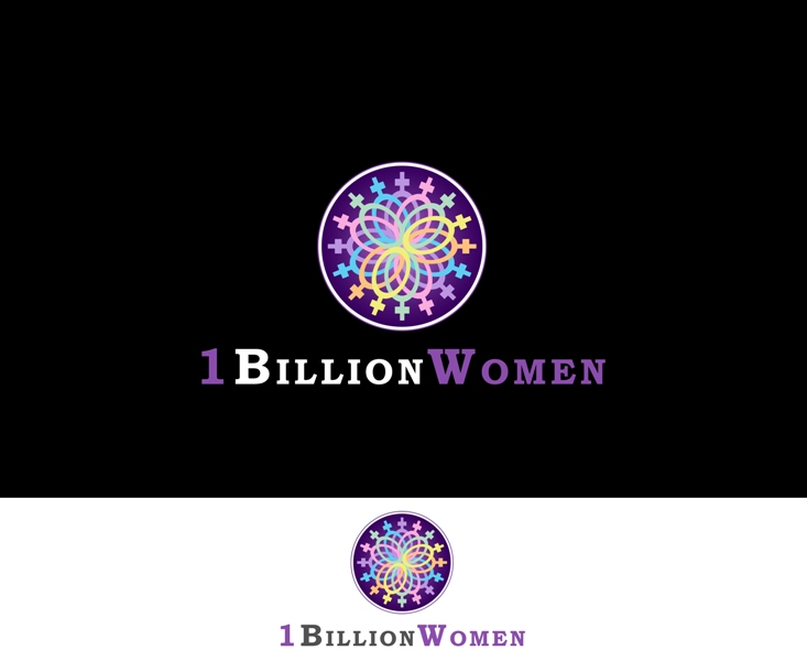 Logo Design by Juan_Kata - Entry No. 89 in the Logo Design Contest Fun Logo Design for 1BillionWomen.