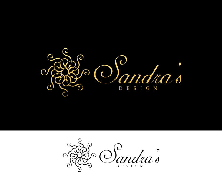 Logo Design by Juan_Kata - Entry No. 22 in the Logo Design Contest Imaginative Logo Design for Sandra's.