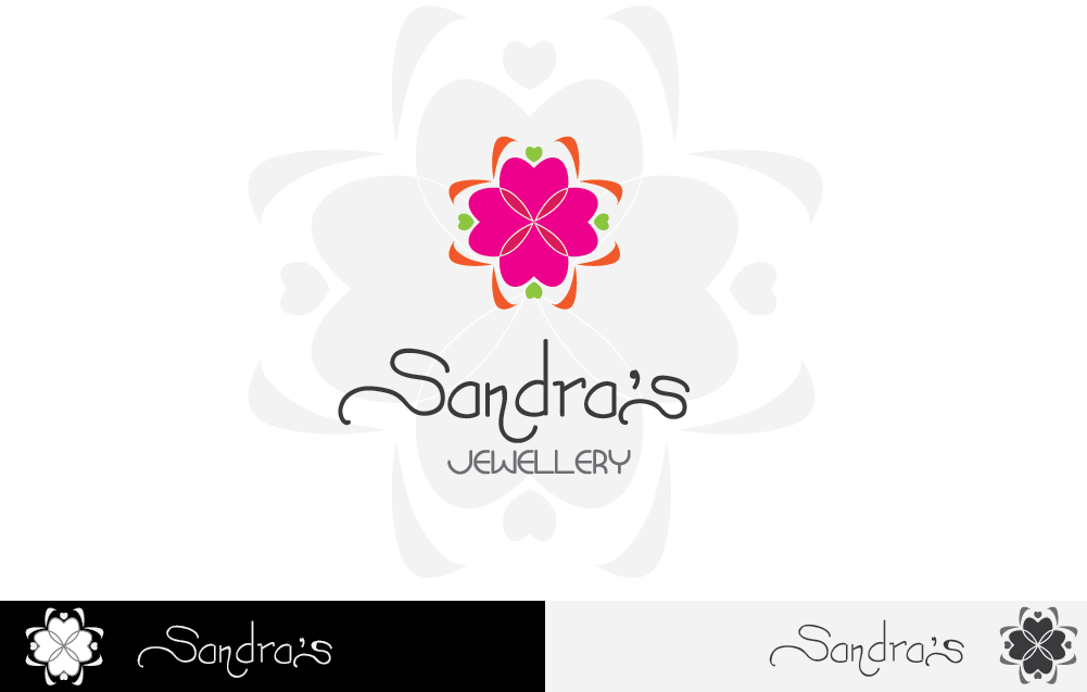 Logo Design by Private User - Entry No. 24 in the Logo Design Contest Imaginative Logo Design for Sandra's.