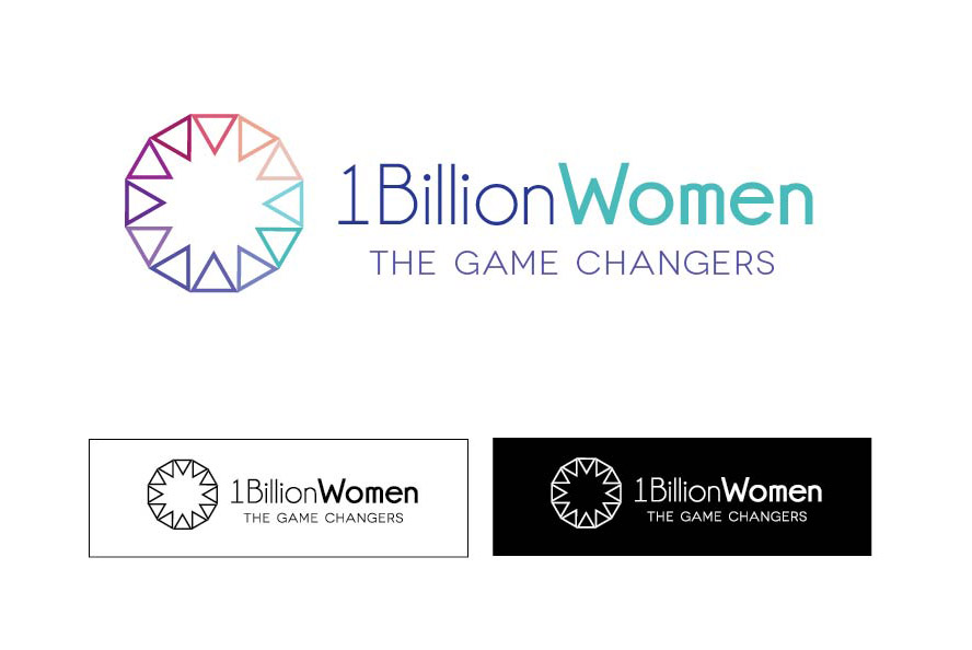 Logo Design by Laura Wood - Entry No. 92 in the Logo Design Contest Fun Logo Design for 1BillionWomen.