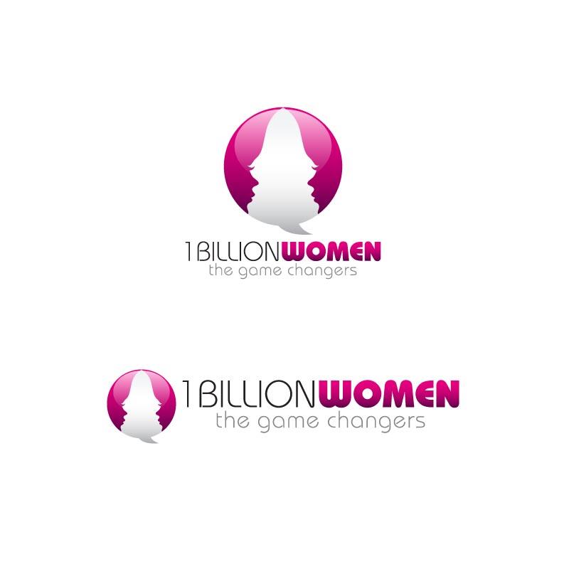 Logo Design by Private User - Entry No. 95 in the Logo Design Contest Fun Logo Design for 1BillionWomen.
