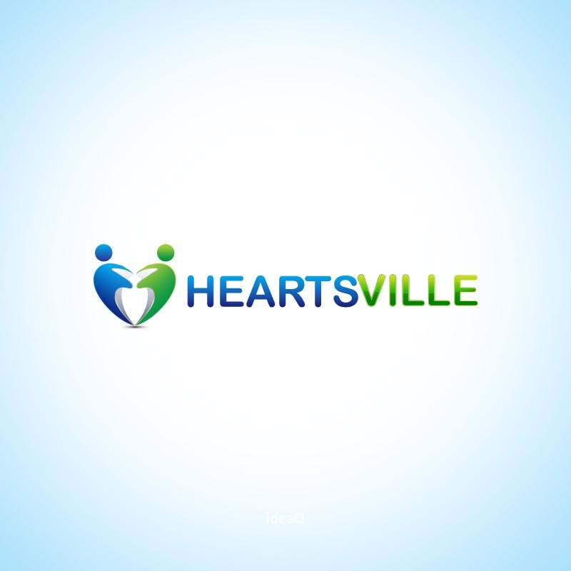 Logo Design by Private User - Entry No. 20 in the Logo Design Contest Unique Logo Design Wanted for Heartsville.