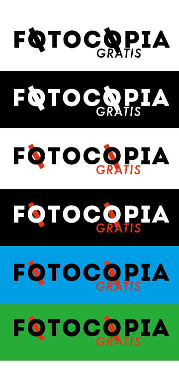 Logo Design by Calum MacConnell - Entry No. 232 in the Logo Design Contest Inspiring Logo Design for Fotocopiagratis.