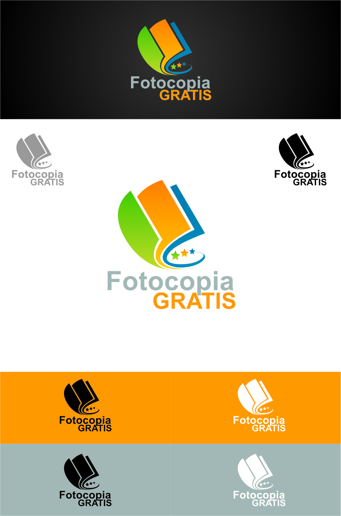 Logo Design by RasYa Muhammad Athaya - Entry No. 237 in the Logo Design Contest Inspiring Logo Design for Fotocopiagratis.