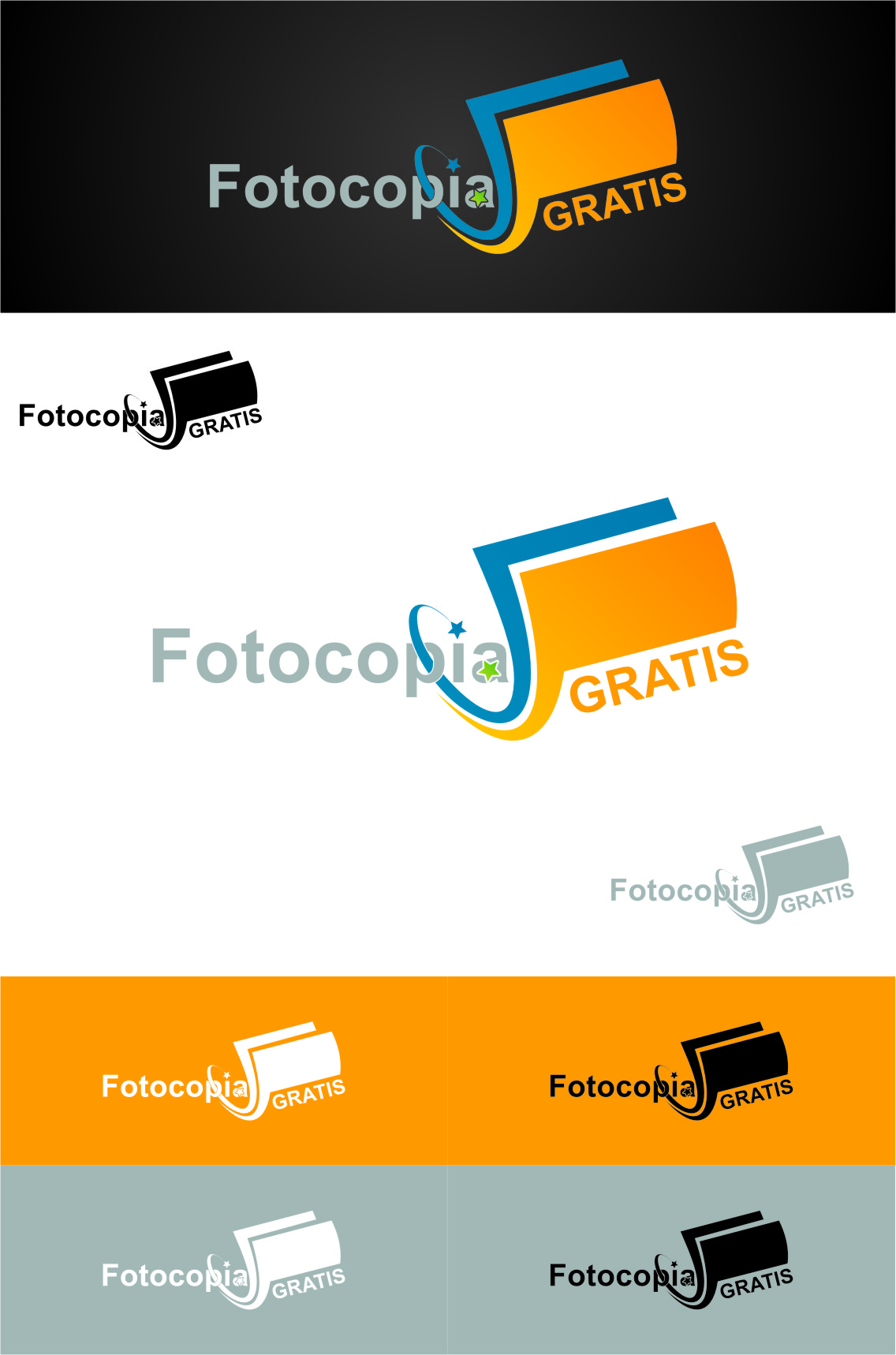 Logo Design by Ngepet_art - Entry No. 238 in the Logo Design Contest Inspiring Logo Design for Fotocopiagratis.