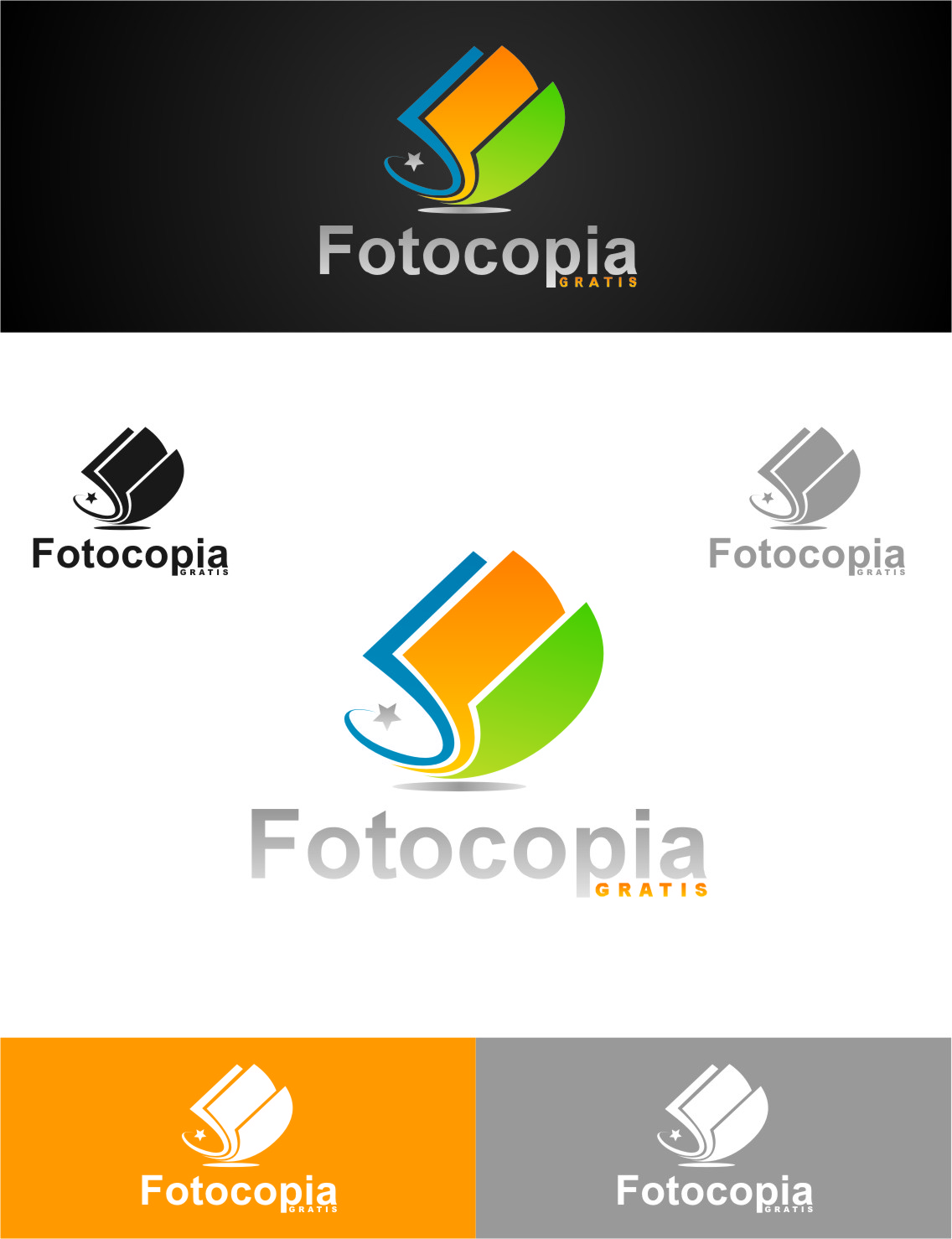 Logo Design by RasYa Muhammad Athaya - Entry No. 239 in the Logo Design Contest Inspiring Logo Design for Fotocopiagratis.