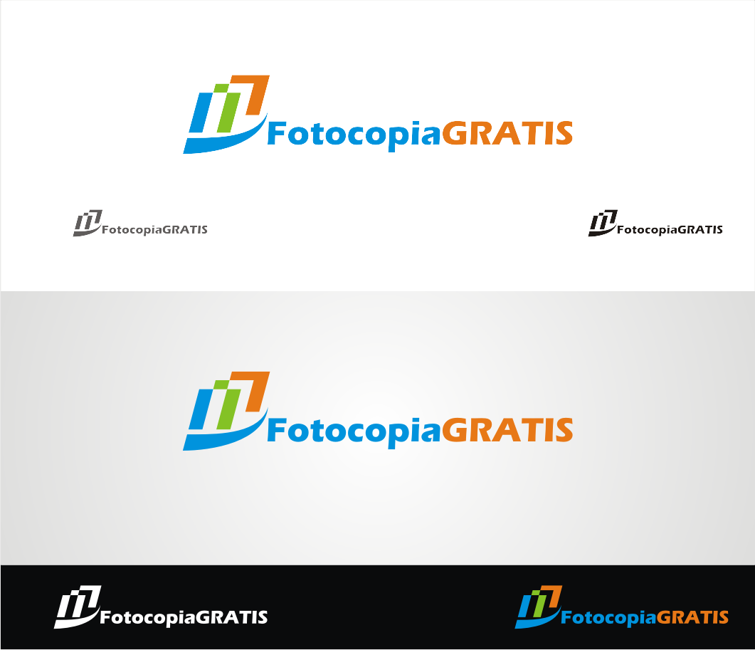 Logo Design by Armada Jamaluddin - Entry No. 247 in the Logo Design Contest Inspiring Logo Design for Fotocopiagratis.