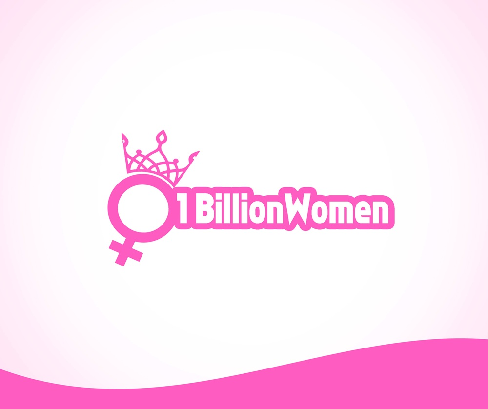 Logo Design by Respati Himawan - Entry No. 100 in the Logo Design Contest Fun Logo Design for 1BillionWomen.