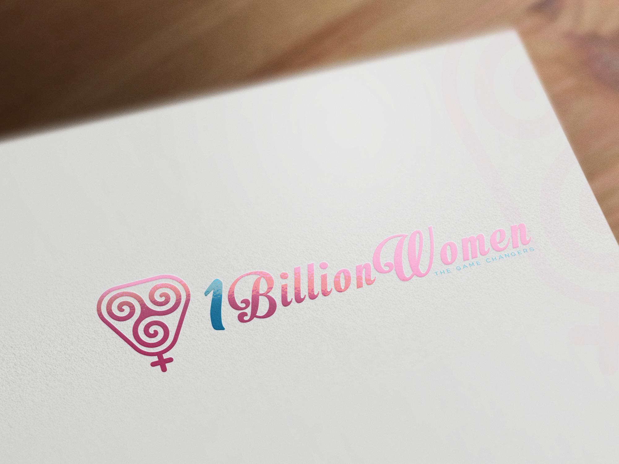 Logo Design by olii - Entry No. 103 in the Logo Design Contest Fun Logo Design for 1BillionWomen.