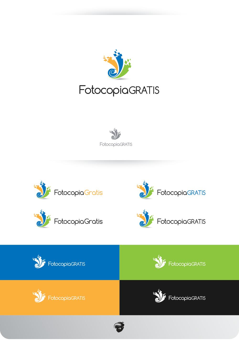 Logo Design by zesthar - Entry No. 255 in the Logo Design Contest Inspiring Logo Design for Fotocopiagratis.