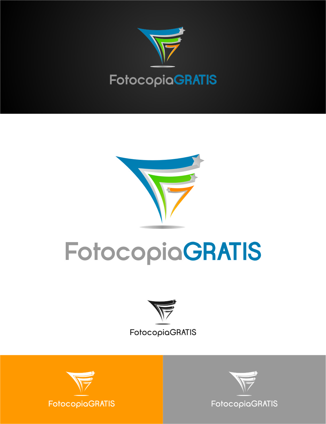 Logo Design by RasYa Muhammad Athaya - Entry No. 259 in the Logo Design Contest Inspiring Logo Design for Fotocopiagratis.