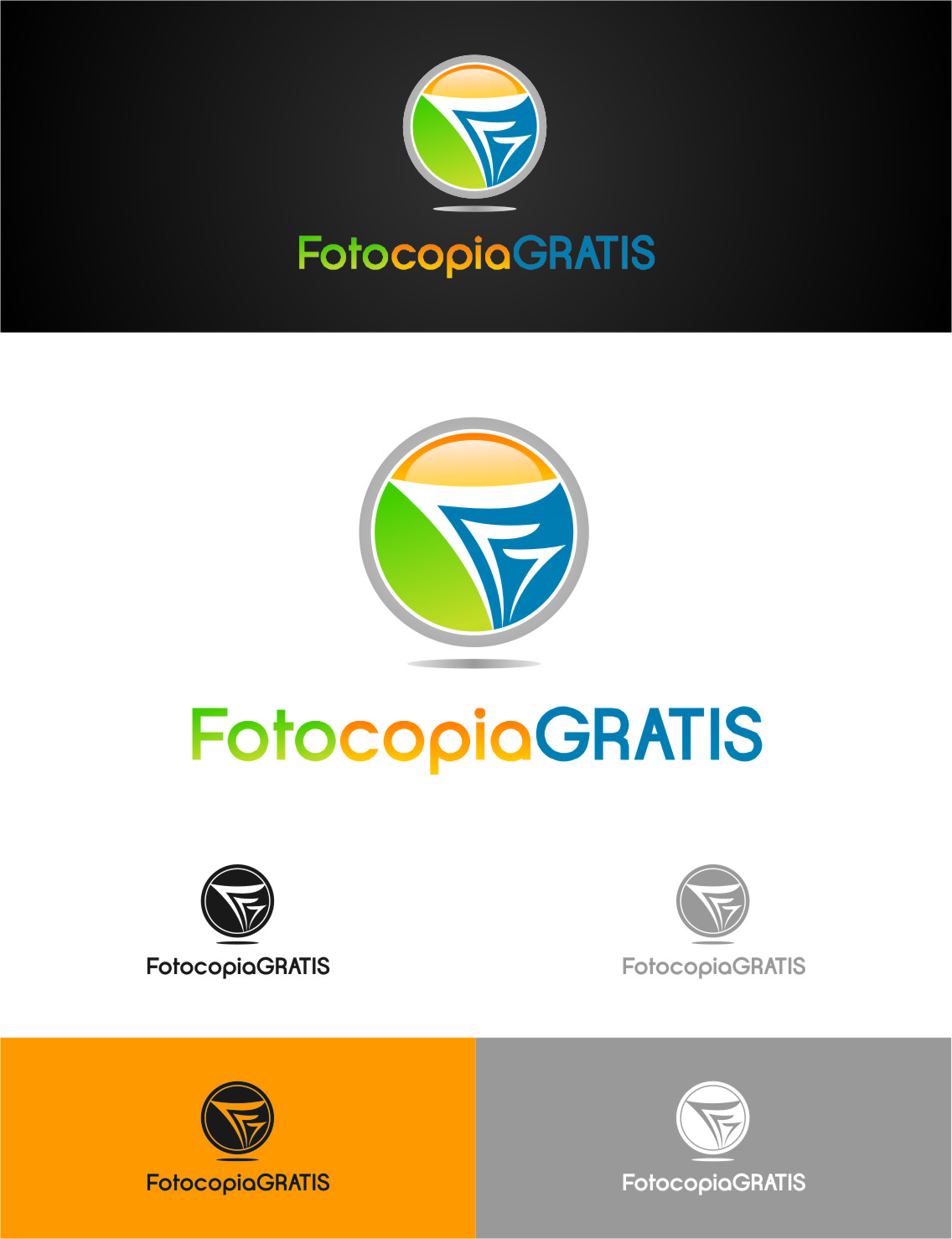 Logo Design by RoSyid Rono-Rene On Java - Entry No. 261 in the Logo Design Contest Inspiring Logo Design for Fotocopiagratis.